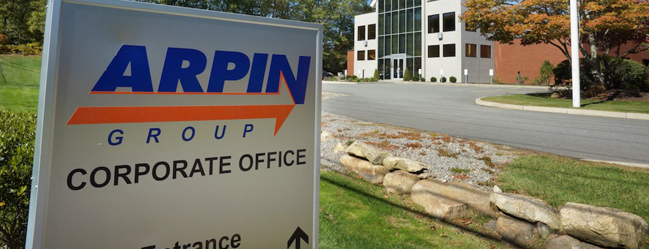 Arpin Corporate sign and office building