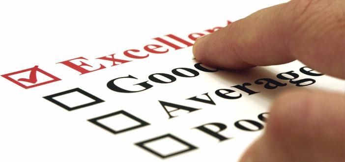 rating check list